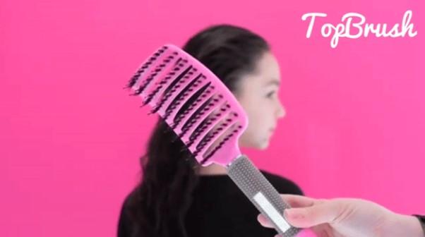 se brosser les cheveux correctement